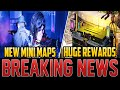 NEW MINI ZOMBIES MAPS REVEALED - MASSIVE REWARDS ADDED!  Cold War Zombies