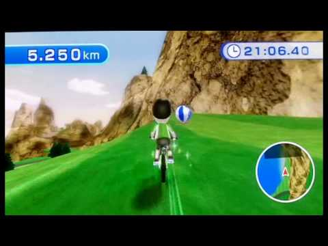 Wii Fit Cycling Speedrun