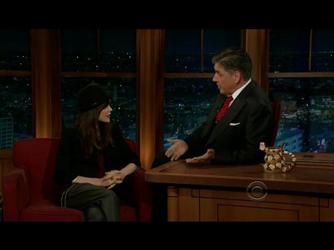 Late Late Show with Craig Ferguson 6/13/2012 Ellen Page, Lee Brice