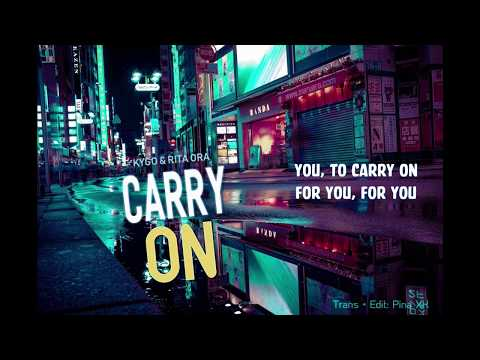 [Vietsub + Lyrics] Kygo, Rita Ora - Carry On (POKÉMON Detective Pikachu OST)