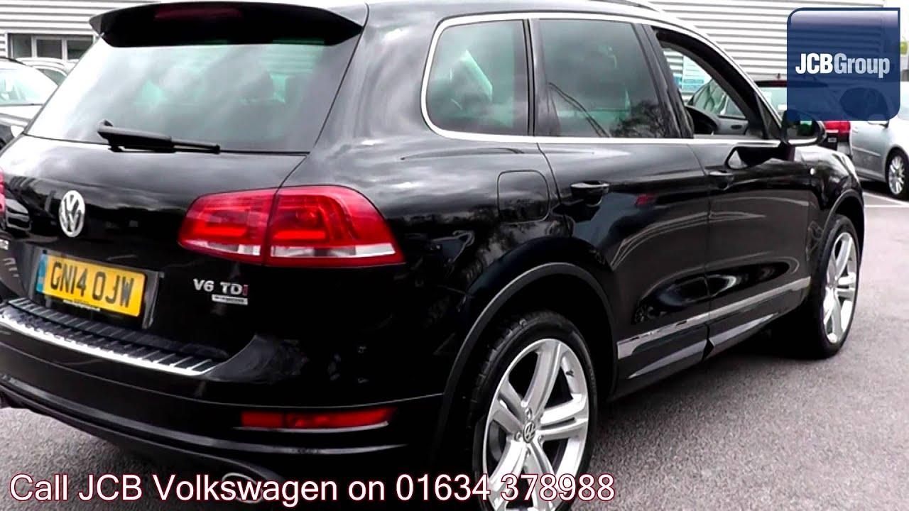 2014 Volkswagen Touareg R Line 3l Deep Black Metallic GN14OJW for ...