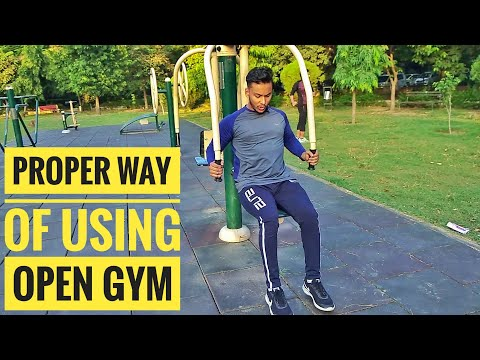 Proper Way Of Using OPEN GYM!