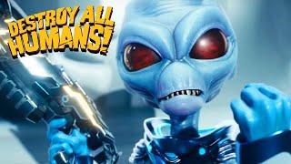 Destroy All Humans Reṁake Gameplay Deutsch #01 - Aliens an die Macht