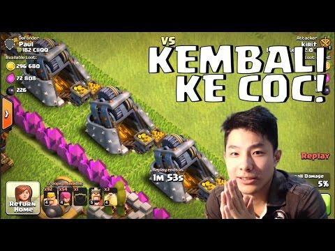 BALIK KE COC! HIDUPKAN KEMBALI BASE GUE DENGAN FARMING EFEKTIF! • Clash Of Clans Indonesia