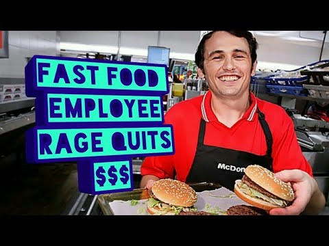 Rapper makes a fast food employee quit his job for $