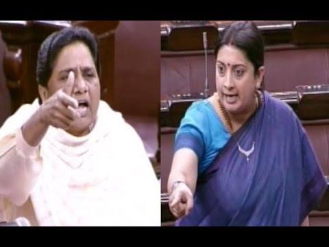 Smriti Irani VS Mayawati Face-Off Over Rohith Vemula Case
