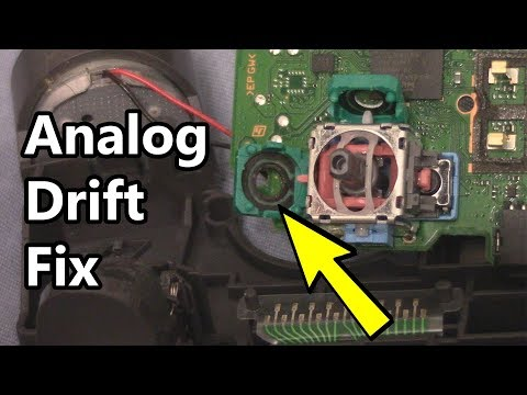 How to Fix Analog Drift or Analog Stutter on PS4 Controller (Cleaning Solution)