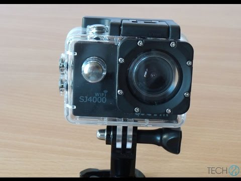 SJCAM SJ4000 WiFi sportkamera teszt