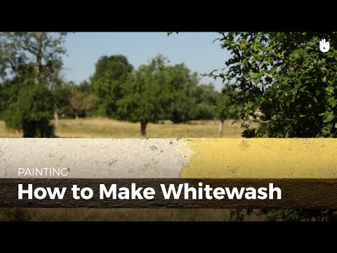How to Make Natural Lime Whitewash | DIY Projects