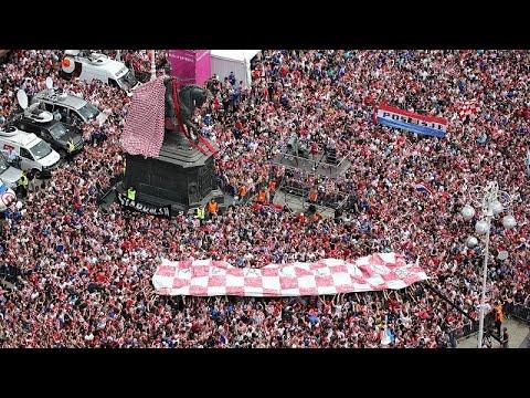 شاهد: استقبال الابطال لمنتخب كرواتيا في زغرب  - نشر قبل 2 ساعة