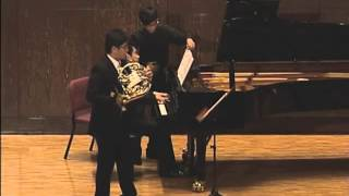 Josef Rheinberger Horn Sonata in E-flat major, Op. 178, Mov.I, Mov.II