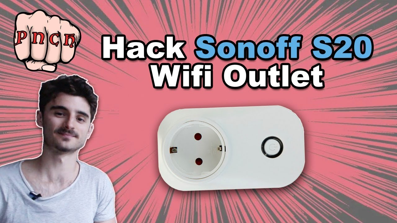 Sonoff S20 Hack - Home Automation with URL - Flash Itead smart outlet with  ESPeasy