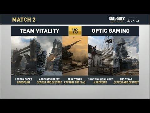 OpTic vs Team Vitality-ProLeague WK2