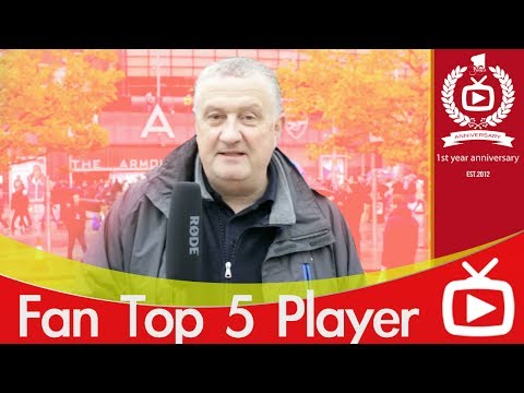 Arsenal Top 5 Favourite Players - Chris Hudson Selection - ArsenalFanTV.com