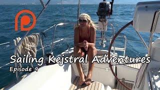Sailing Kejstral Adventures Episode 9 ( Samos, Greece)