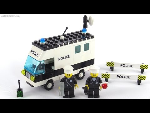LEGO classic Town Mobile Command Unit from 1986! set 6676