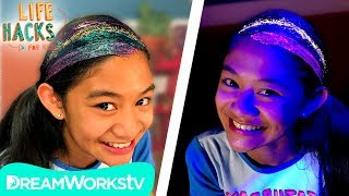 Glitter Sleepover Hacks | LIFE HACKS FOR KIDS