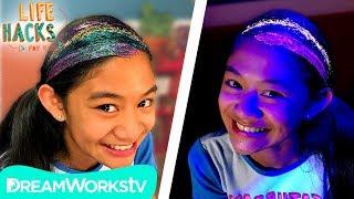 Glitter Sleepover Hacks | LIFE HACKS FOR KIDS