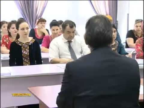 USAID & Chevron IFRS Course for Turkmen Accountants Countrywide (News report from TV-4 Turkmenistan)