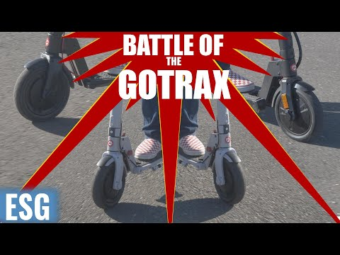 Battle of the Gotrax   Entry-level Scooter Showdown