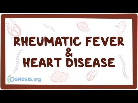 Rheumatic fever & heart disease - causes, symptoms, diagnosis, treatment, pathology