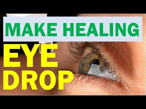 How To Make Natural  Eye Drop For Dry Eye, Eye Infection, Eye Ailments (Eye Health)