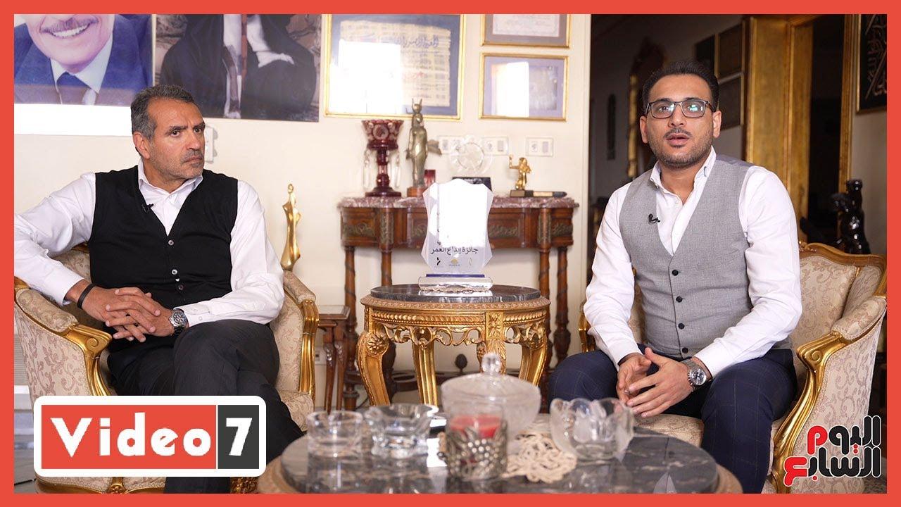 صورة فيديو : جولة فى منزل عزت العلايلى بعد وفاته.. تمنى الموت وهو واقف على رجله