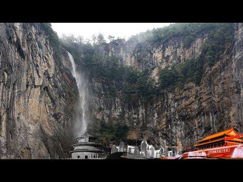 """《地理中国》 会""""倒流""""的瀑布:恩施神秘深山里的奇观 20190807"""