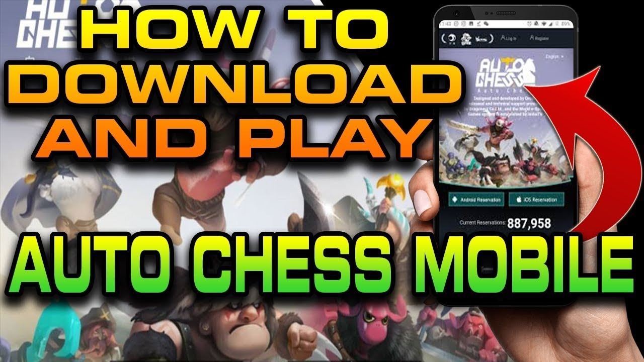 How to DOWNLOAD + PLAY Auto Chess Mobile | With FULL GAMEPLAY and beginner  guide!