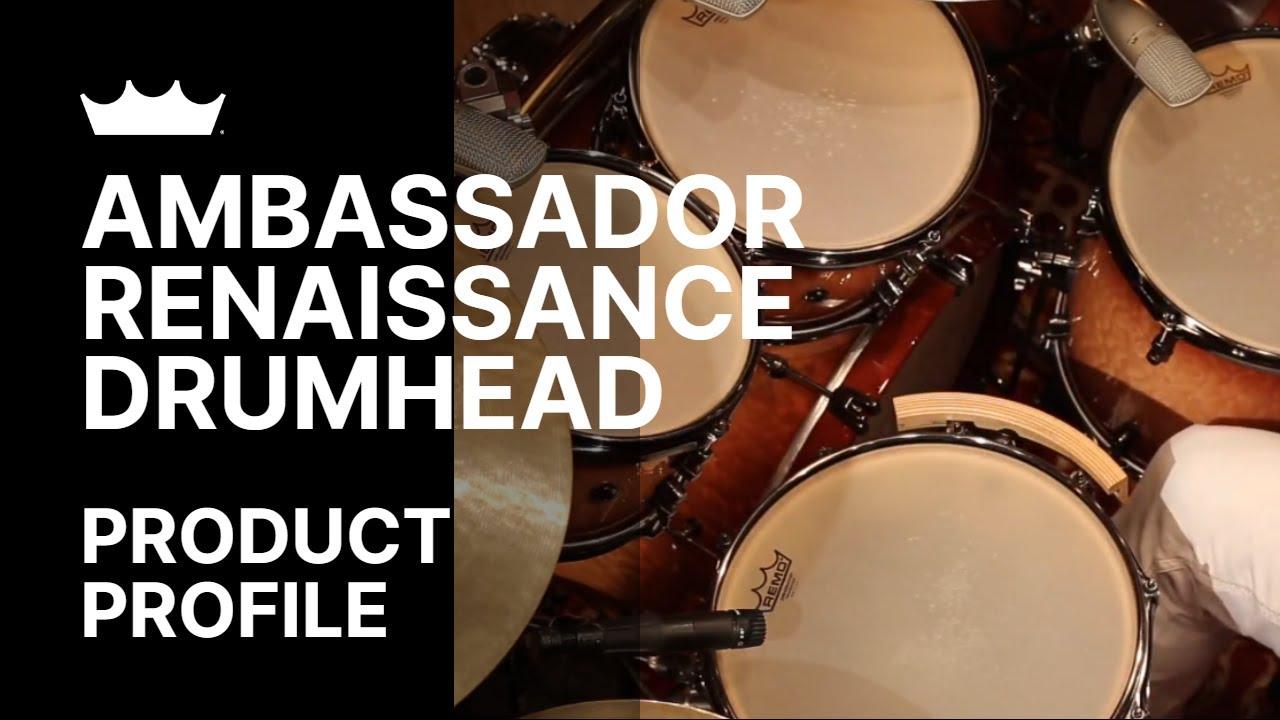 Remo: Ambassador Renaissance Drumhead