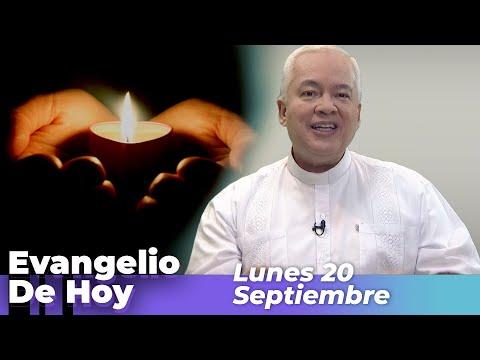 EVANGELIO  DE HOY, Lunes 20 De Septiembre De 2021 - Cosmovision
