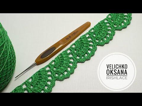 Видео уроки вязания ленточного кружева