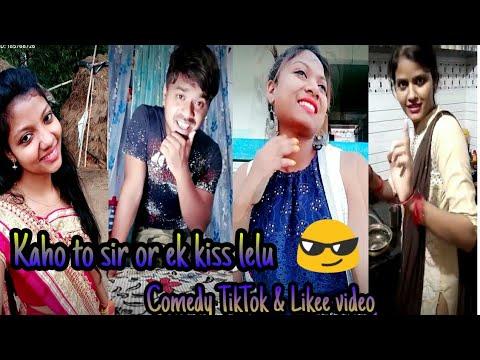Funny Comedy Video.__   Santali Tiktok Or Likee Video __   New Santali Tiktok Video . TMP