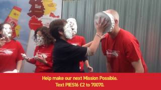 Pie In The Sky For Midlands Air Ambulance Charity!