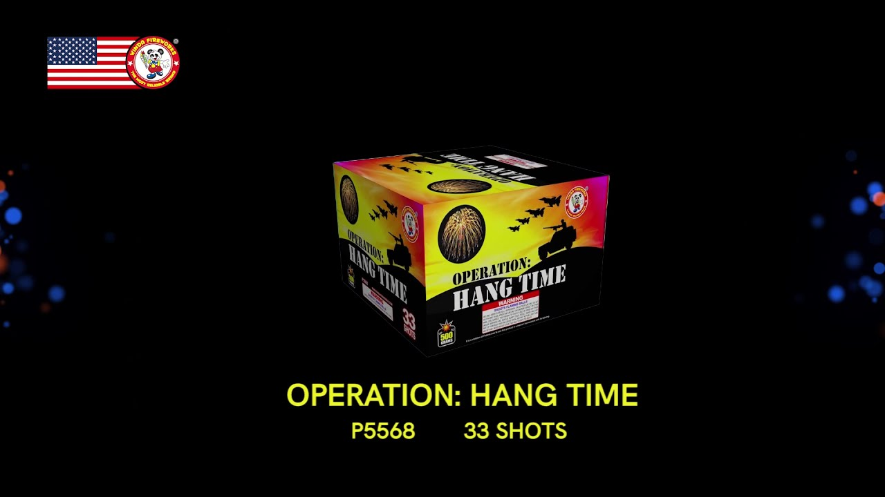 OPERATION:HANG TIME P5568 WINDA FIREWORKS 2022 NEW ITEMS
