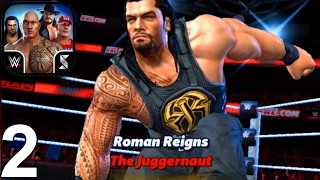 WWE: Champions - Roman Reigns Gameplay (iOS Android )