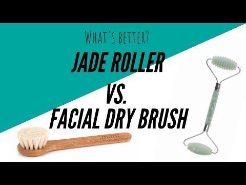 Jade Roller vs Dry Brush: What's better?