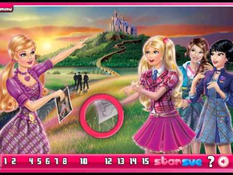 Barbie Princess Charm School   GamesGames.Ca