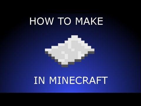 how to make paper in minecraft ps3