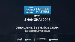IEM Shanghai 2018 - Faza grupowa - Dzień 3 - Na żywo