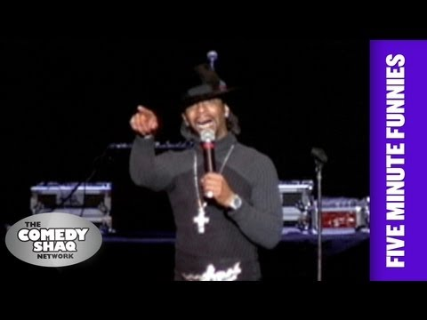 Katt Williams⎢Spinner Hubcaps!⎢Shaq's Five Minute Funnies⎢Comedy Shaq