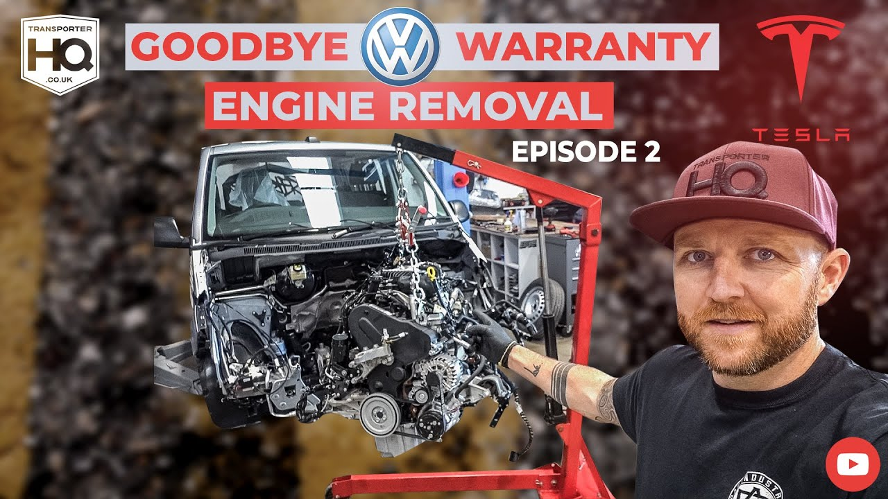 Tesla Powered VW Transporter T6.1 Episode 2. Goodbye VW Warranty | Transporter HQ