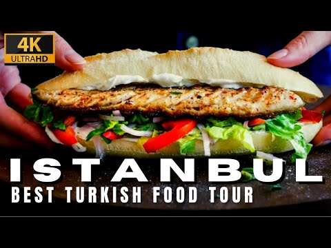 Best Turkish Delicious Street Food Tour In Istanbul City |13 March 2021|4k UHD 60fps|