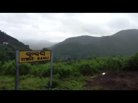 Train ride to DESIA rural tourism camp at Koraput