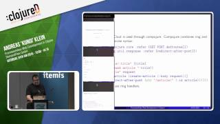 Frameworkless Web Development in Clojure by Andreas 'Kungi' Klein