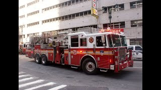 a fire truck ladder 1z engine 3 f d n y funniest light and sirens