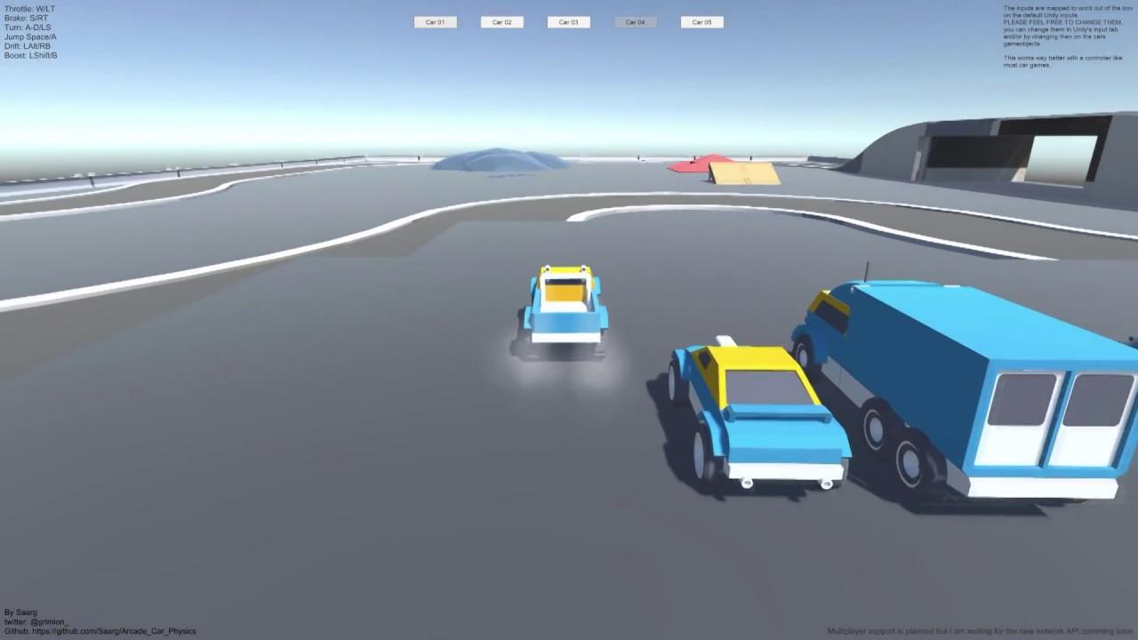 [Free] Arcade Car Physics Unity