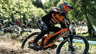 Raw MTB Practice Highlights from Lourdes | UCI Mountain Bike World Cup 2017