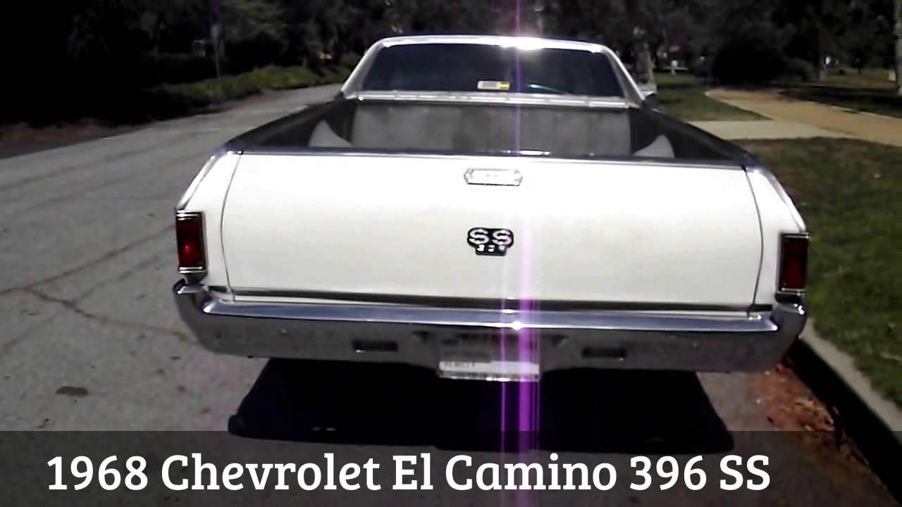 1968 Chevrolet El Camino 396 Ss Youtube Chevy