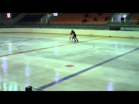 Figure Skating National Championships. Kazakhstan. Free Dance 2012.